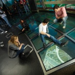 CN Tower photo: Glass Floor
