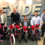 Bike donation for North Fulton Community Charities