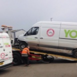 Yodel photo: Yodel are also known as the home delivery network and are part of the littlewoods and very empire.