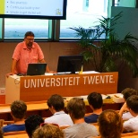 OVSoftware photo: Lunchlezing voor UT studenten