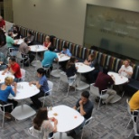 Austin interns speed networking