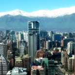 View from our Santiago office