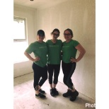 Publix helps serves. Volunteering with Habitat for Humanity.