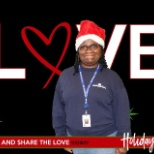 Holiday photo at my currant job