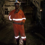 DMC Mining Services photo: SHAFT  MINING   MY  JOB IS  BRASTNG  BOX CONTROLLER