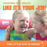 The Little Gym photo: Handing out smiles like it's your job!
