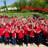 Cardinal Health photo: 2015 Heart Walk Team for the American Heart Association