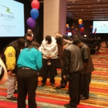 Rivers Casino photo: All Team Member Meeting - Competition Games Q1-17