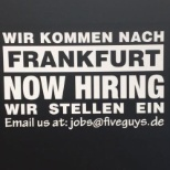 We're growing all the time, imagine where your career with Five Guys could take you.