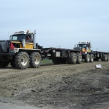 Allnite Trucking Ltd. photo: 8x8 floater bed trucks