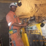 I'm still working in long hole stoping (U/G) with long hole machine. Atlas Copco Simba - H 1257
