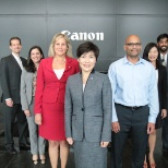 Canon employees