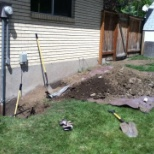 Peopleready photo: Excavation job i did through labor ready.
