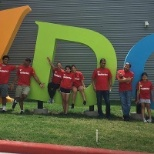 Our employees and their family members recently volunteered at the Youth Development Center (YDC)