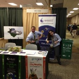 Harvest Power photo: Having fun at the US Composting Council conference.
