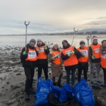 Recently members of our Dublin hub took the afternoon to clean Sandymount Strand with Clean Coast.