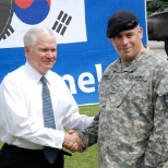 Me with the SecDef Dr. Robert Gates