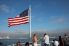 There's no end to the beautiful scenery while working for Hornblower on San Diego Bay