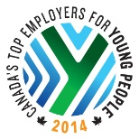 Manulife Financial photo: 2014 Canada's Top Employers for Young People
