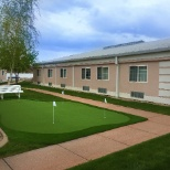 Apple Village Assisted Living photo: Putting Green for Residents