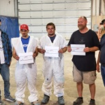 We recognize our employees for working safely!  