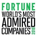 "Fortune's ""World Most Admired Companies"" 2018"