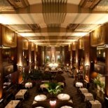 AAA Five Diamond restaurant Orchids at Palm Court located at the Hilton Cincinnati Netherland Plaza.