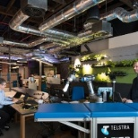 Telstra photo: Gurrowa Innovation Lab, Melbourne