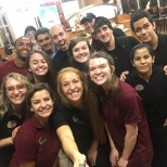 Chick-fil-A photo: Closing crew