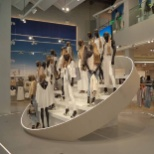 River Island photo: Mannequins at Birmingham Bullring