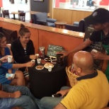 Coffee Tasting with customer