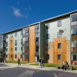 Lancaster University photo: College Residences