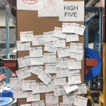 Henkel High 5 was launched so our employees can recognize the outstanding work of their coworkers.