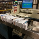 United States Postal Service photo: sorting mail in the morning