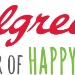 Walgreens logo, and mantra