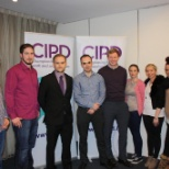 Conor and Niall attending CIPD event in Athlone