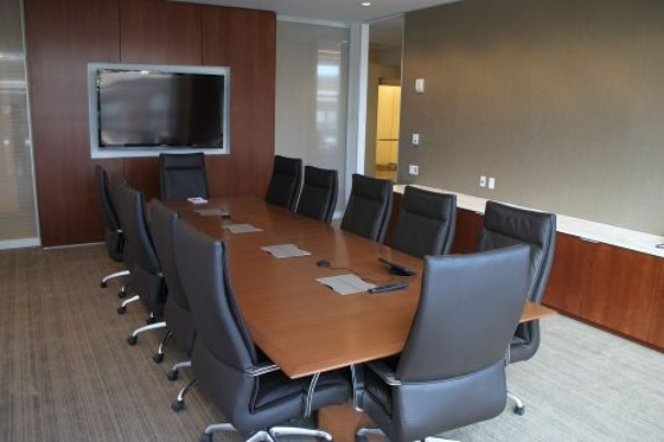 Conference room in Grand Rapids, MI office