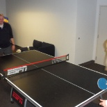 Goodmortgage.com photo: employees frequently visit our game room and Indoor basketball court to relax for a few minutes