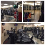 Fitness Center at corporate headquarters