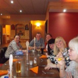 Wm Morrisons Supermarkets photo: Staff night out.