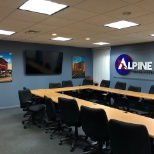 Alpine Power Systems photo: Alpine's Training room where associates are trained for success.