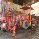 I have wide knowledge and good experience with this long hole machine (Solo) Sandvik/Tamrock DL 311.