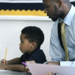 Our teachers lend a helping hand when scholars are in need.