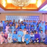 Celcom's Regional Hari Raya Celebration together with Chief of Group Business Service and Solution.