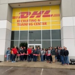 DHL photo: Grand Opening of the new Recruiting and Training Center.  Congrats to the Team!