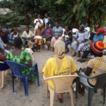 Joint Mid-term evaluation of pilot project'' Saving for Change'' in Liberia.