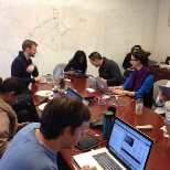 The Washington Post photo: Our Engineering team hard at work during their Breakathon event!