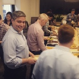 Borderfree photo: Our CTO surprised us all with a Taco Buffet!