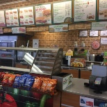 Subway at the army base