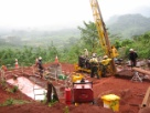 IRON ORE exploration Guinea in Africa Rio project around 2007-8-9